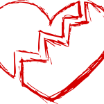 Broken Heart (PNG Transparent)