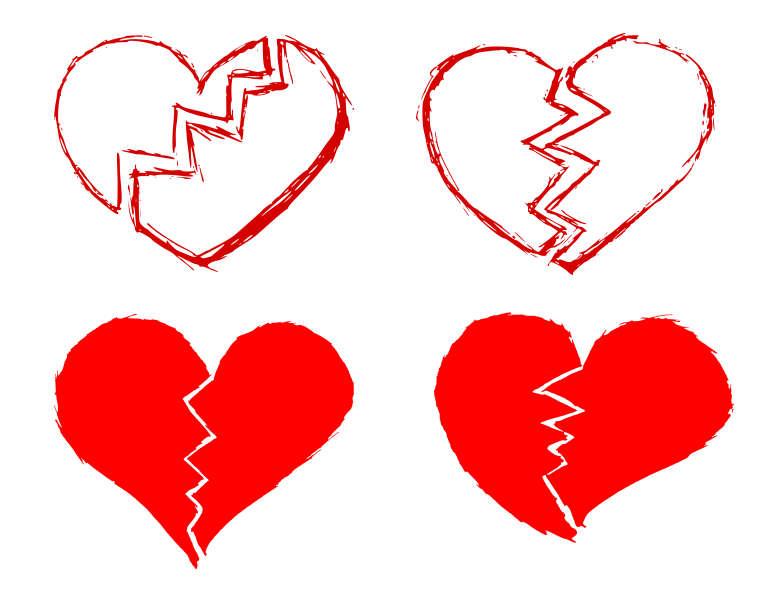 Broken Heart Png Transparent Onlygfx