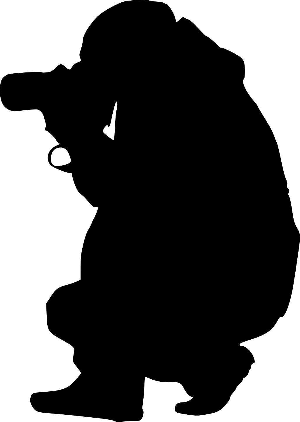 13 Photographer with Camera Silhouette (PNG Transparent ...