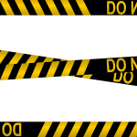 Police Line Do Not Cross Tapes (PNG Transparent)