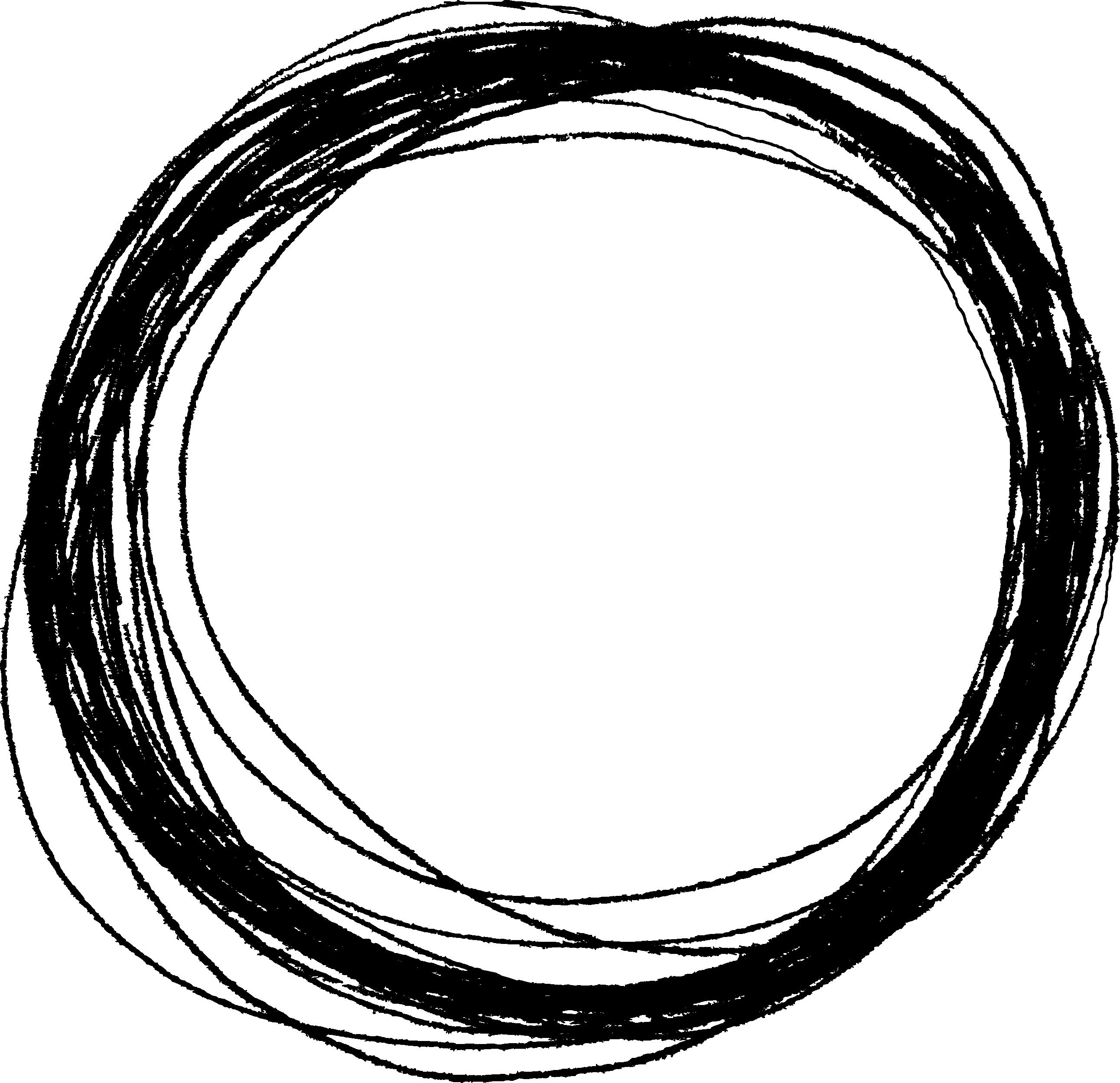 10 Scribble Circle (PNG Transparent)   OnlyGFX com