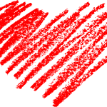 5 Scribble Heart (PNG Transparent)