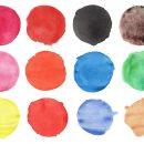 12 Watercolor Circles (PNG Transparent) Vol. 2