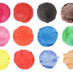 12 Watercolor Circles (PNG Transparent) Vol. 2