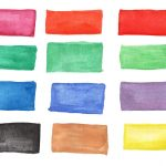 12 Watercolor Banner Rectangle (PNG Transparent)