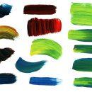 14 Paint Brush Strokes (PNG Transparent) Vol. 2