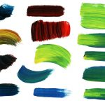 14 Paint Brush Strokes (PNG Transparent) Vol. 2