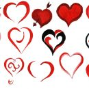14 Painted Heart (PNG Transparent)