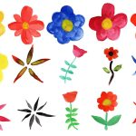 15 Watercolor Flowers (PNG Transparent) Vol. 2