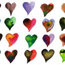 20 Watercolor Heart (PNG Transparent) Vol. 2