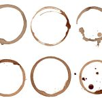 6 Coffee Stain Rings (PNG Transparent)