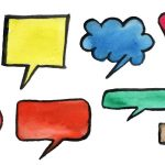 8 Watercolor Speech Bubbles (PNG Transparent) Vol. 3