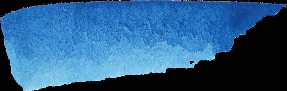 16 Blue Watercolor Brush Stroke Banner (PNG Transparent ...