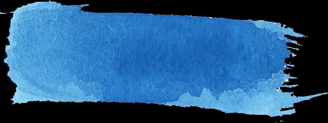 16 Blue Watercolor Brush Stroke Banner Png Transparent