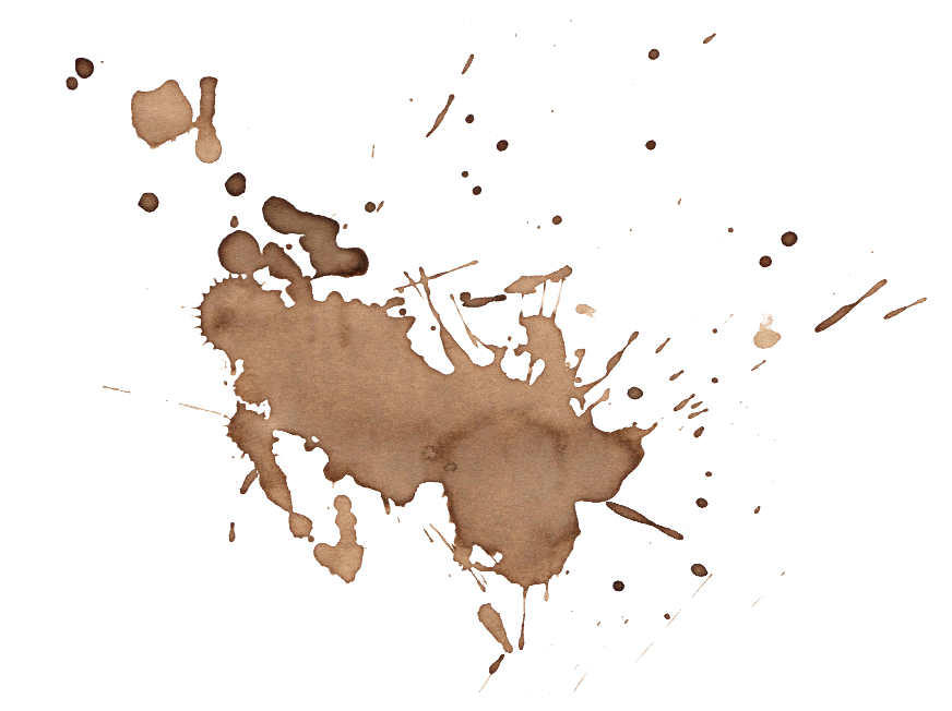 16 Coffee Stains Splatter (PNG Transparent) Vol. 2 | OnlyGFX.com