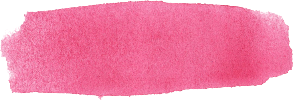 10 Pink Watercolor Brush Stroke Banner (PNG Transparent ...