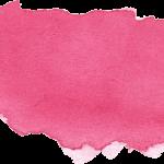 10 Pink Watercolor Brush Stroke Banner (PNG Transparent) Vol. 2