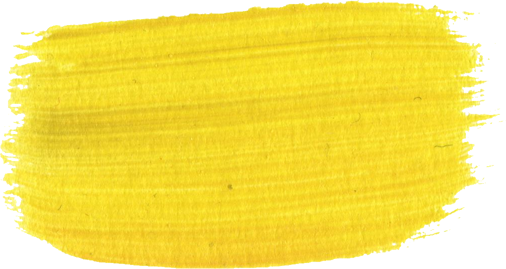 11 yellow paint brush strokes png transparent for How to make yellow paint