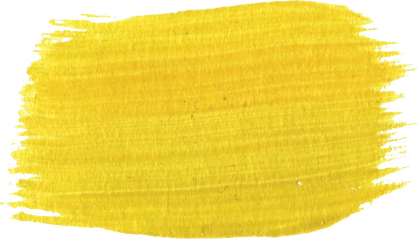 11 Yellow Paint Brush Strokes (PNG Transparent) | OnlyGFX.com