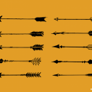10 Bow Arrow Vector (SVG, PNG Transparent)