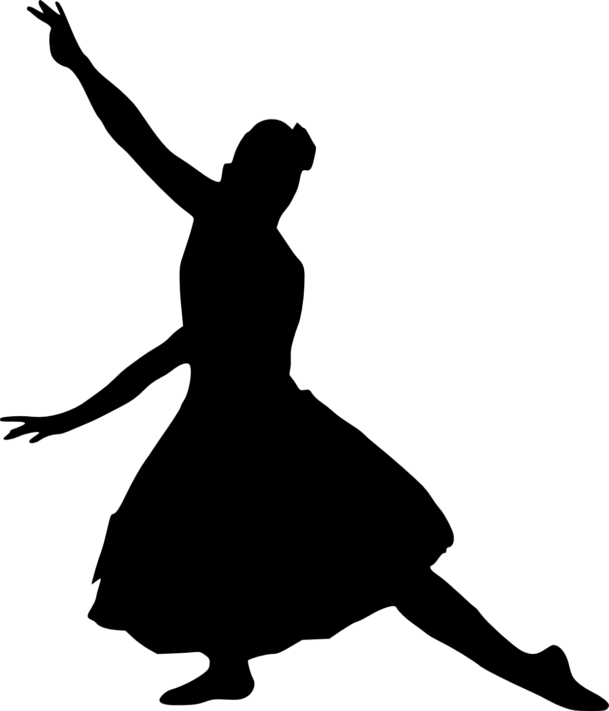 Ballet Silhouette Images at GetDrawings | Free download