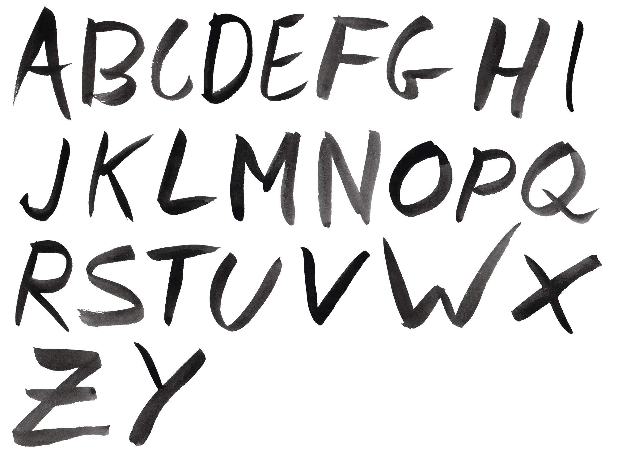 Black watercolor font alphabet png transparent onlygfx black watercolor font alphabet png transparent thecheapjerseys Choice Image