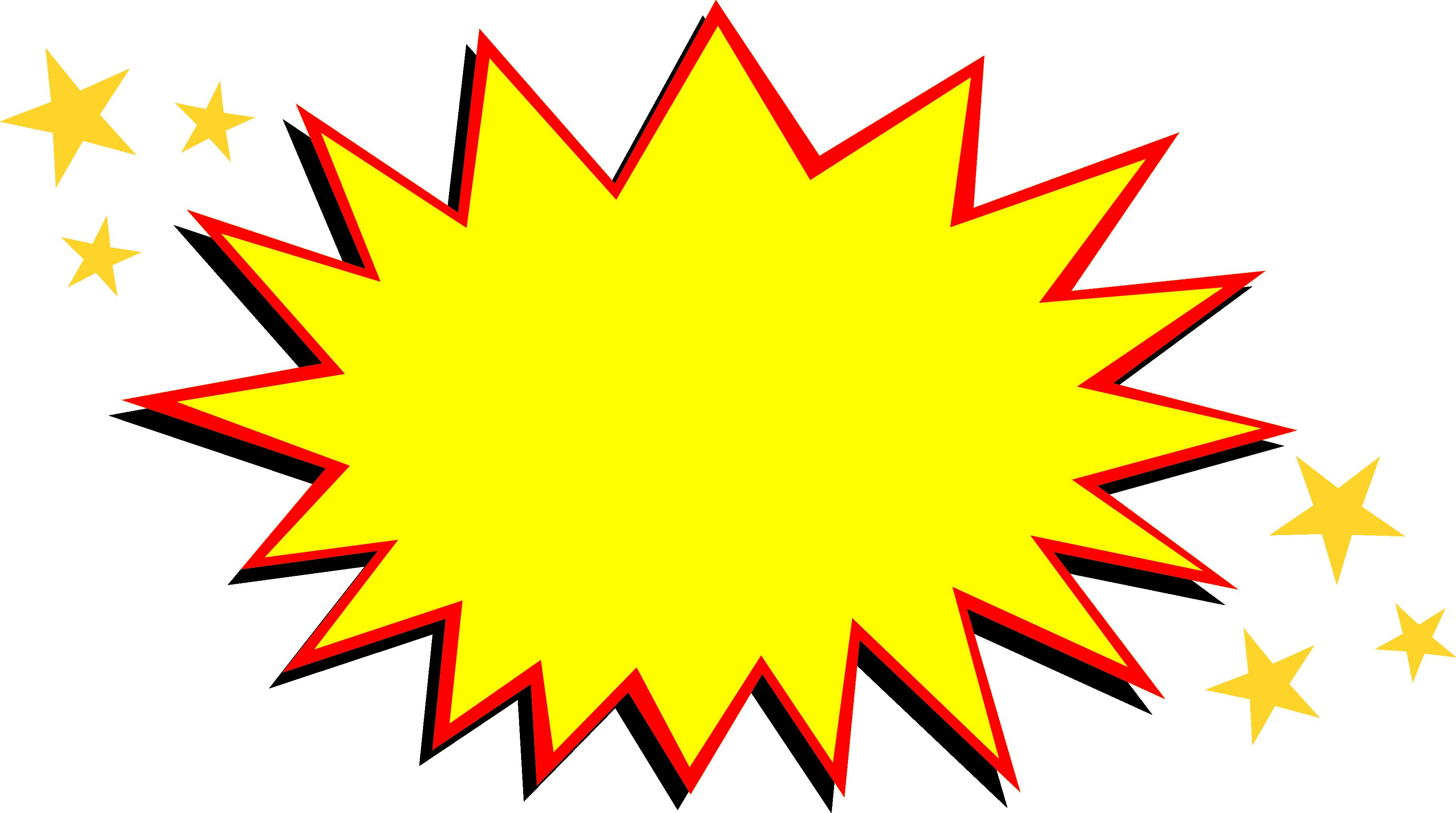 20 comic boom explosion vector png transparent svg vol 2