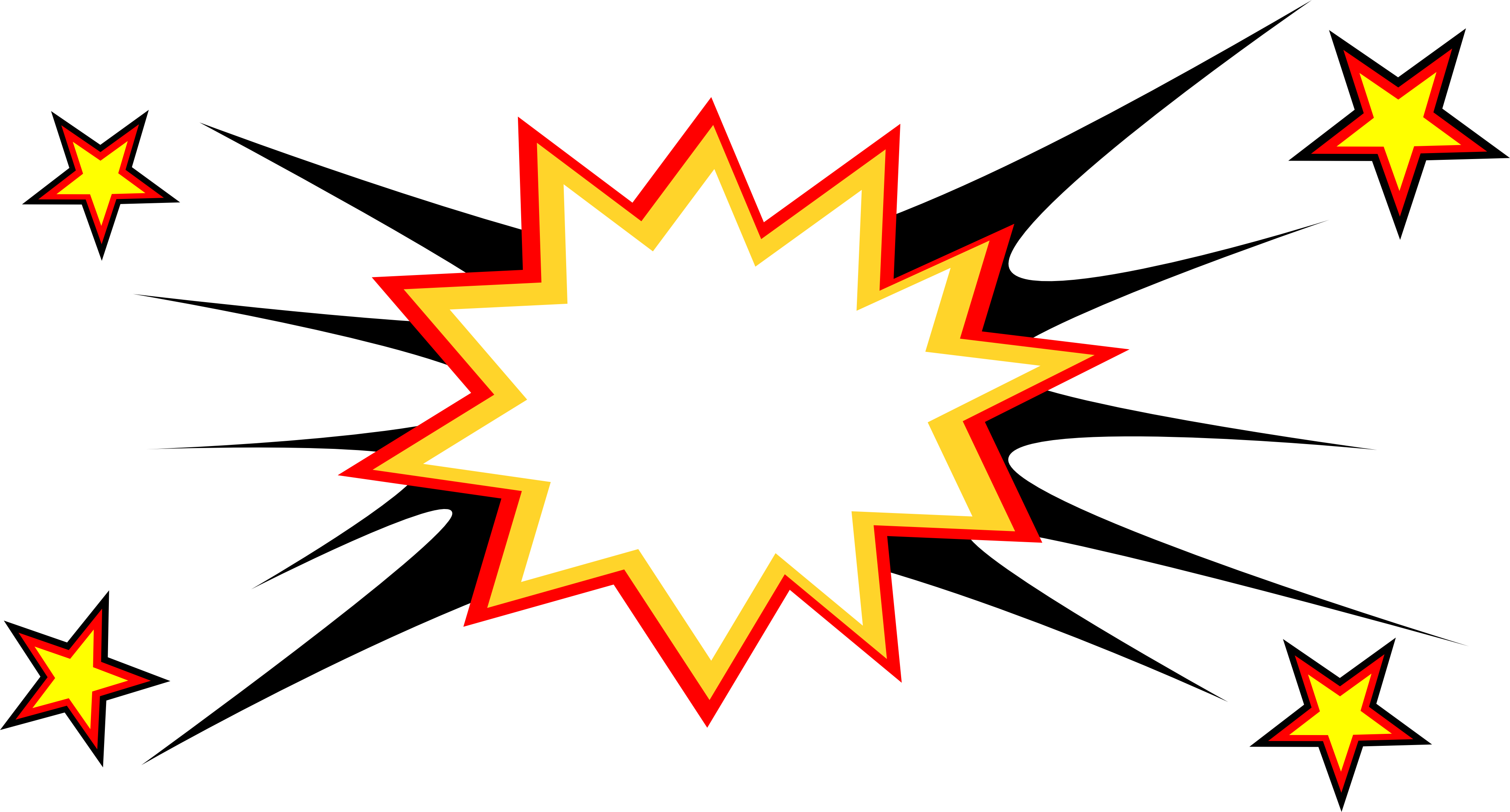 Free Download Png And Vector: 20 Comic Boom Explosion Vector (PNG Transparent, SVG) Vol