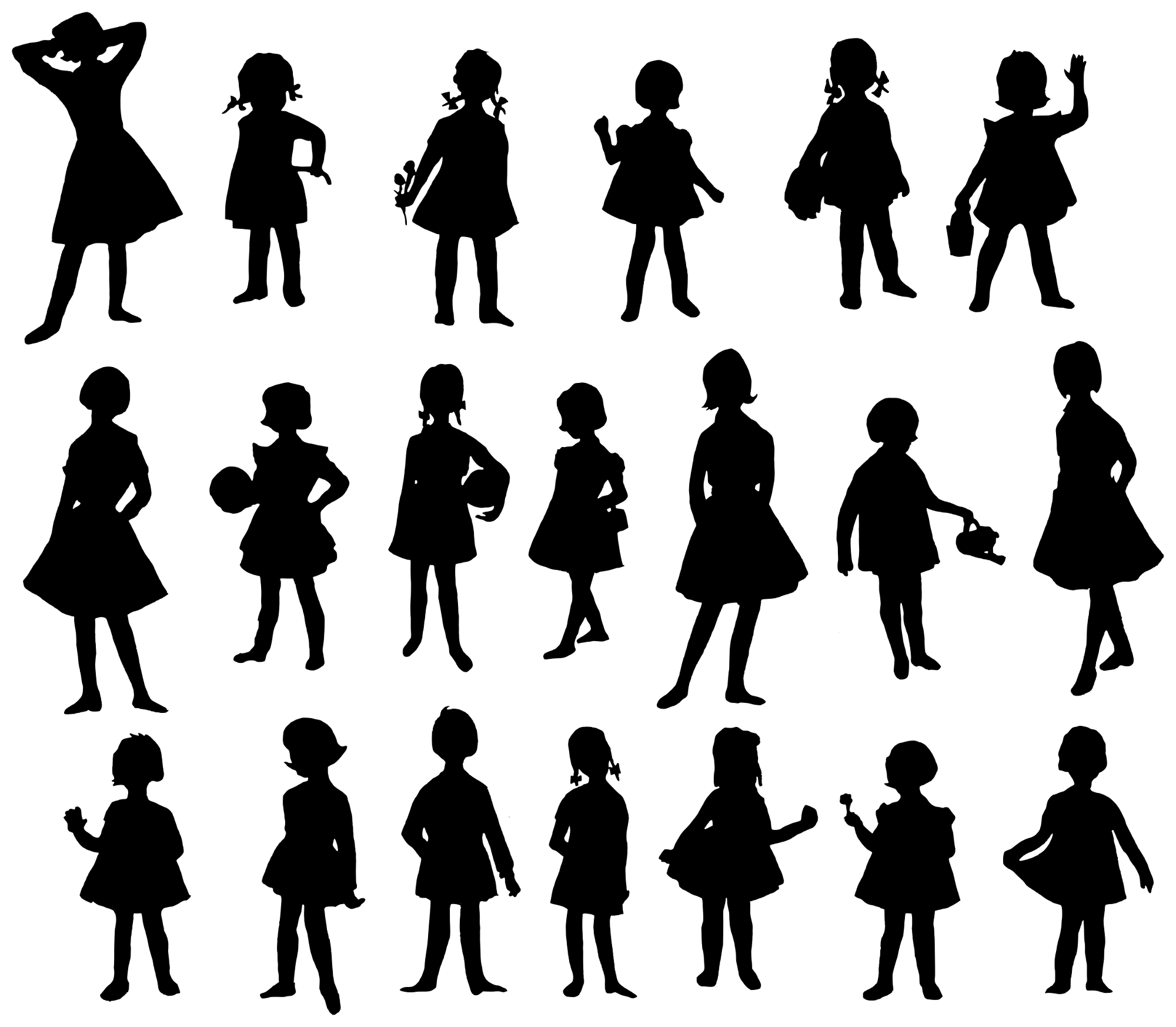 little girl silhouette head clipart 20 free Cliparts ... |Girl Silhoutte