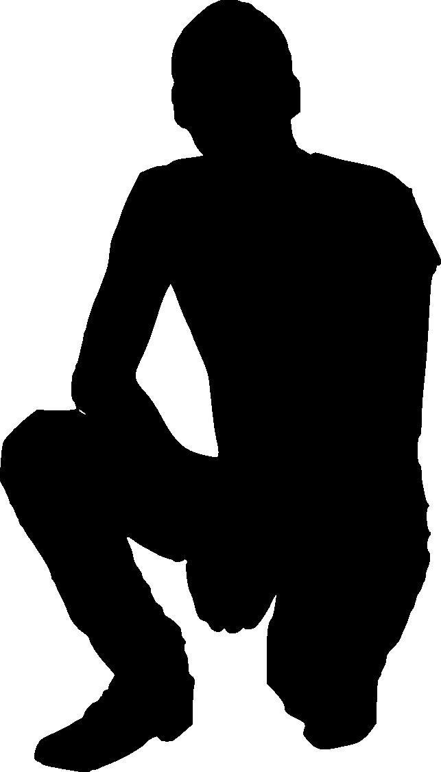 20 Man Silhouette (PNG Transparent) | OnlyGFX.com