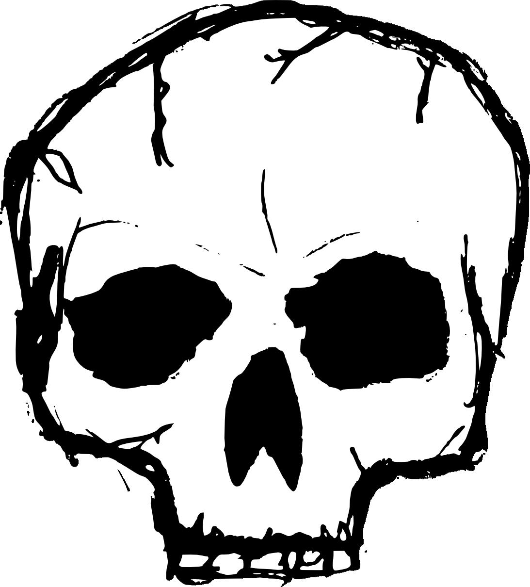 Clipart  Transparent Skull Clipart