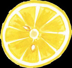Watercolor Lemon (PNG Transparent) | OnlyGFX.com