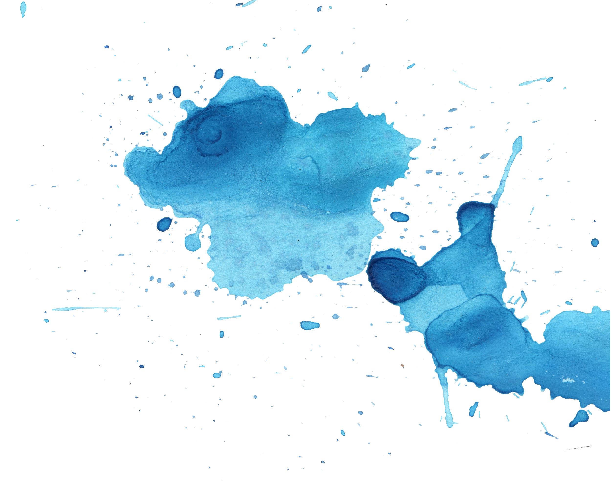 Free download blue watercolor splatter texture 13 jpg