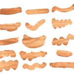 24 Brown Watercolor Brush Stroke (PNG Transparent)