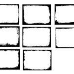 8 Grunge Frame (PNG) Vol. 2
