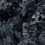 4 Paint Texture Black and White Texture (JPG)