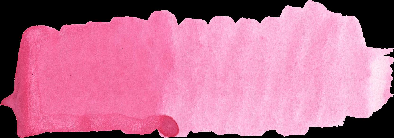 39 Pink Watercolor Brush Stroke (PNG Transparent) Vol. 2 ...