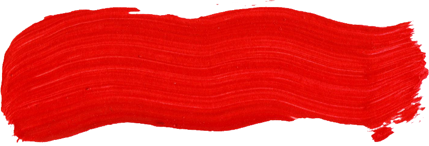 Free Red Paint Brush Stroke 2 Png