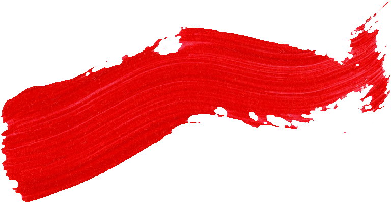 Free Red Paint Brush Stroke 32 Png