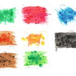 8 Watercolor Texture (JPG) Vol. 3