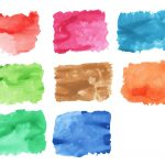 8 Watercolor Texture (JPG) Vol. 2