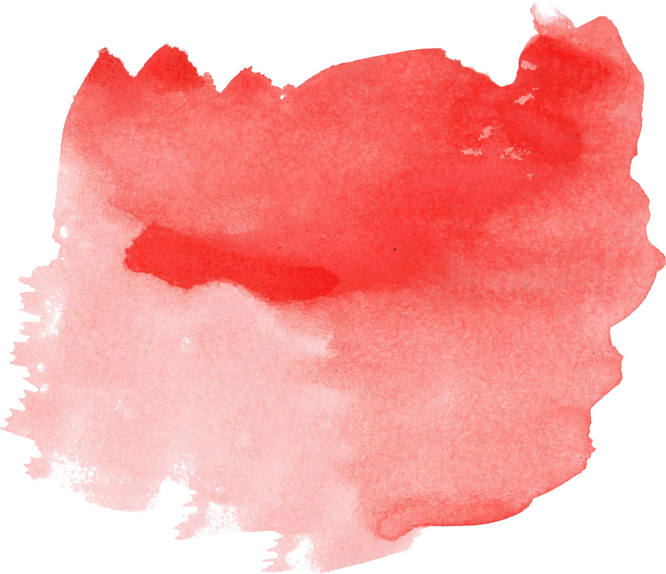 Red Paint Strocke