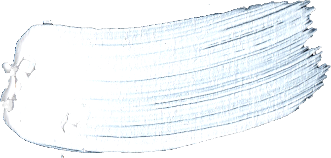 White Paint Brush Stroke O Png
