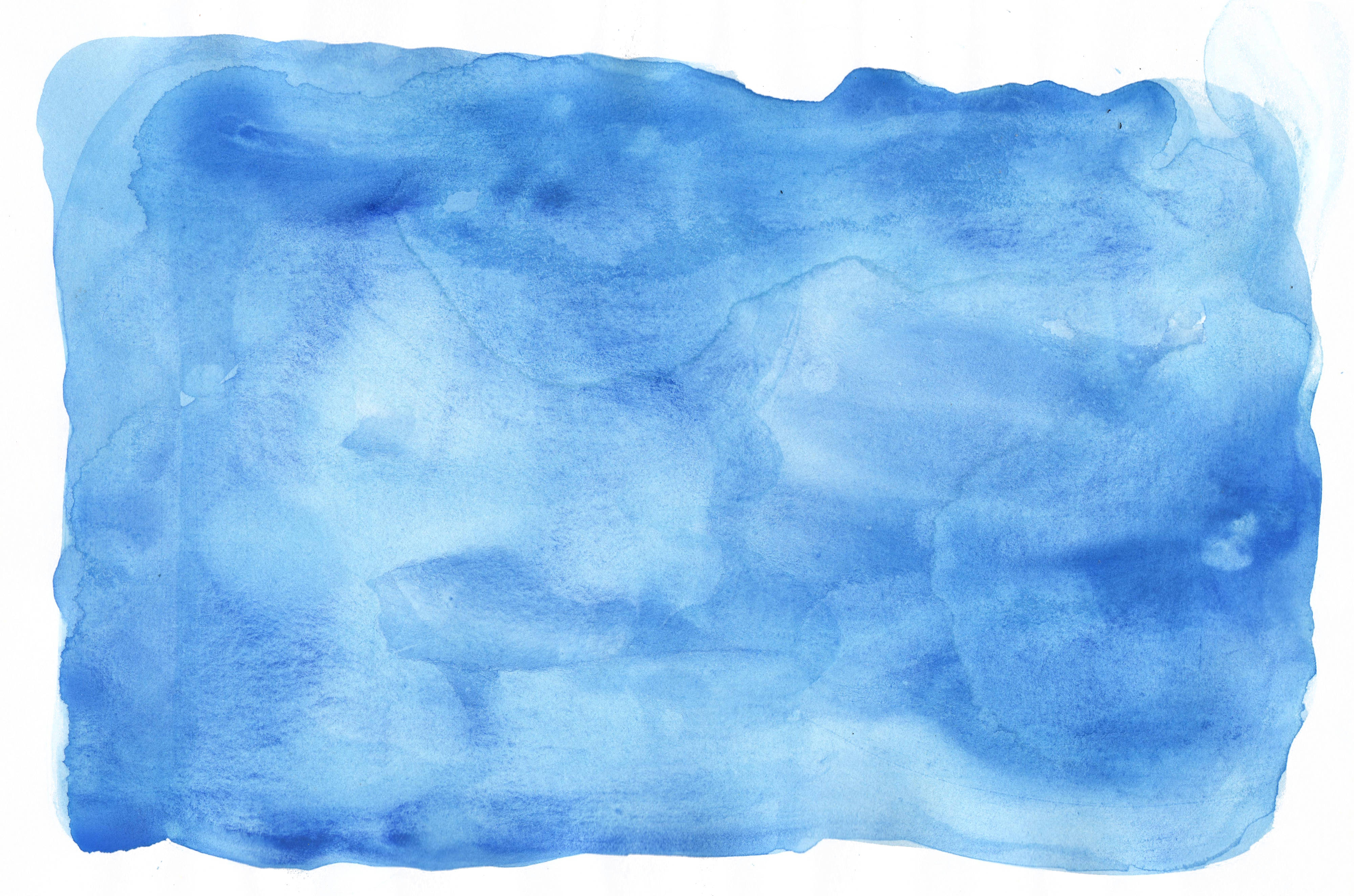 6 blue watercolor texture  jpg  vol  2