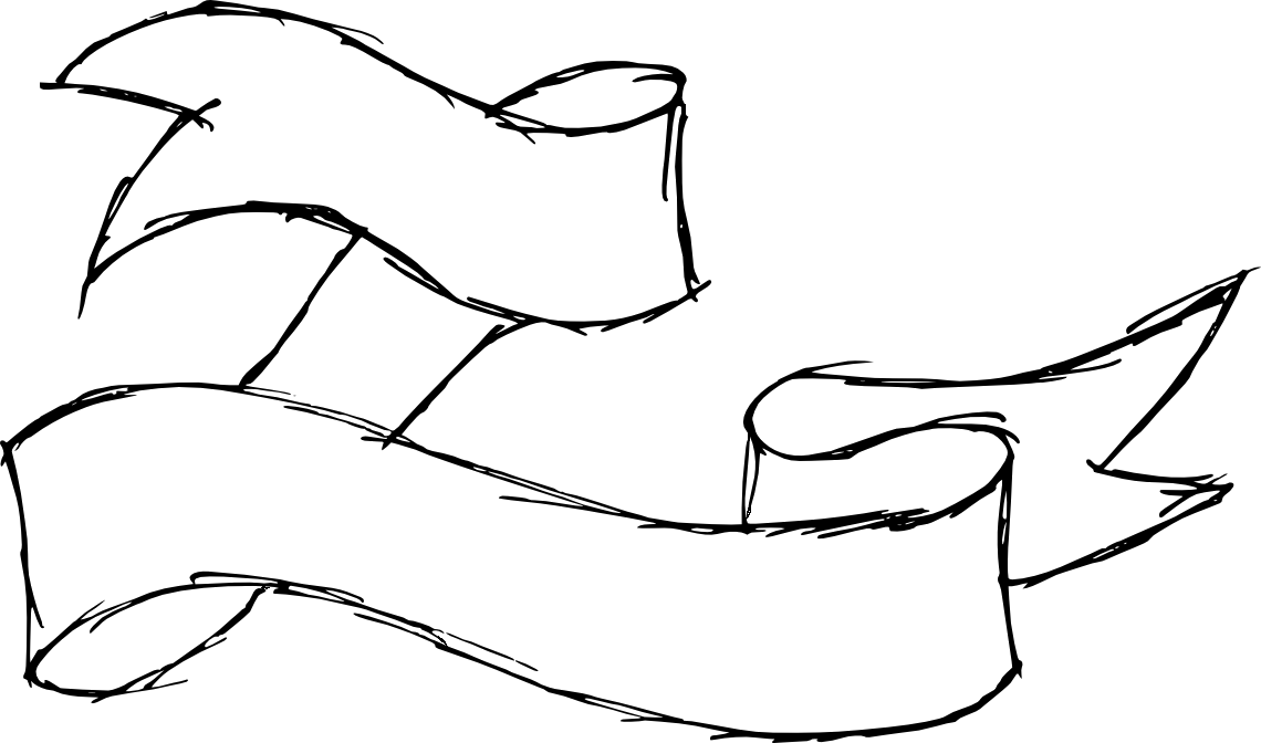 9 Hand Drawn Banner Ribbon Png Transparent Onlygfx Com