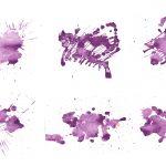 6 Purple Watercolor Texture (JPG)
