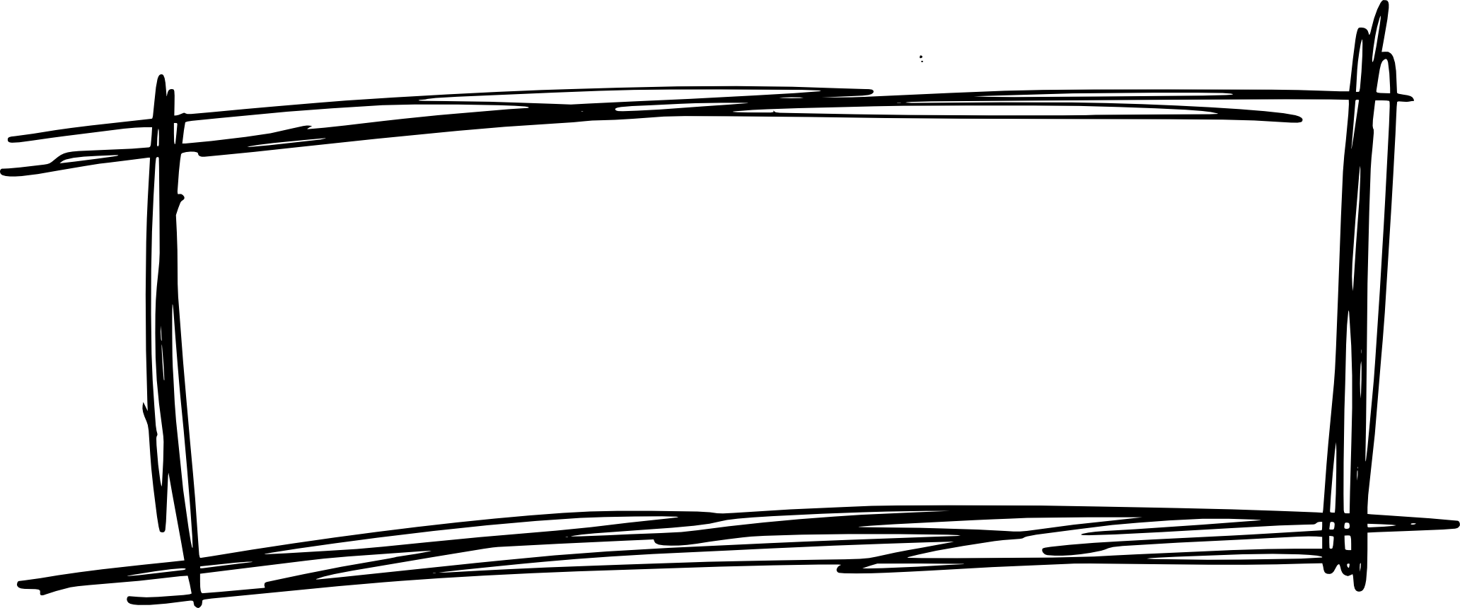 9 Scribble Rectangle Banner (PNG Transparent)   OnlyGFX.com