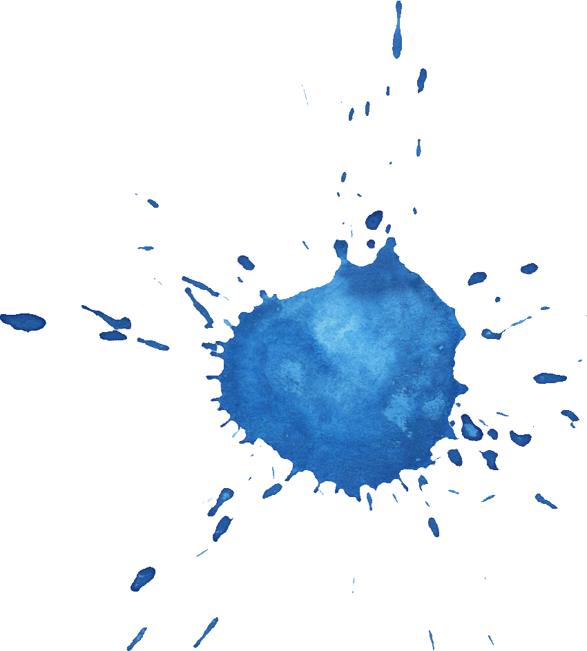 8 Blue Watercolor Drop Splash (PNG Transparent) | OnlyGFX.com