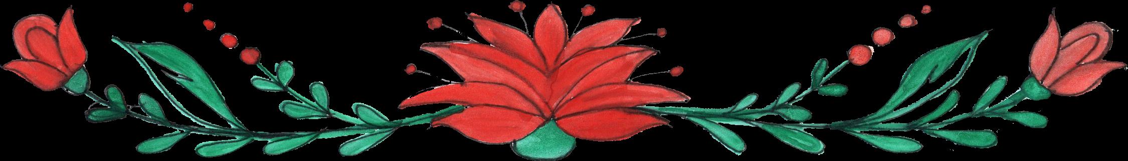 Free Download Flower Border Ornament 1