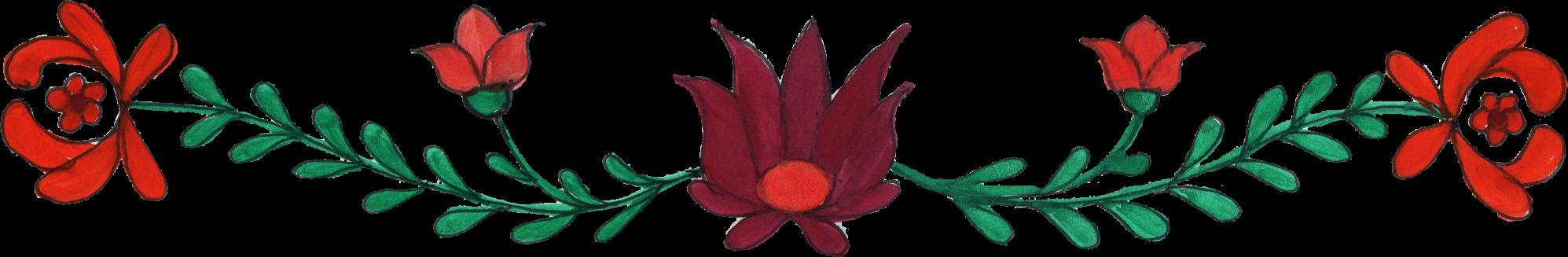 8 Flower Border Drawing Png Transparent Onlygfxcom